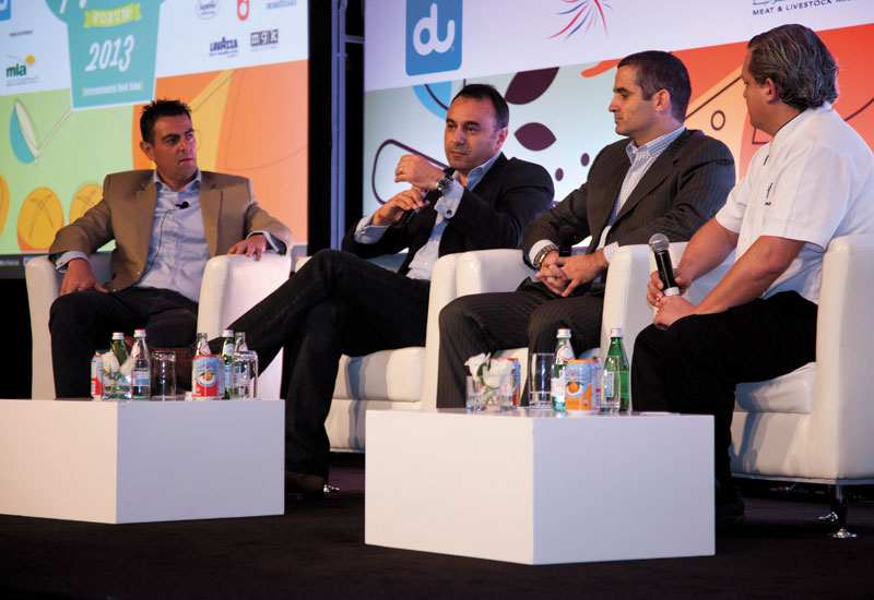 Delegates debate the importance of training in F&B at the Caterer Middle East Chef & Ingredients Forum.
