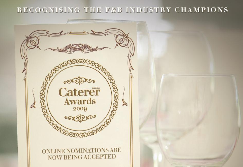 The Caterer Awards nomination deadline is September 30.