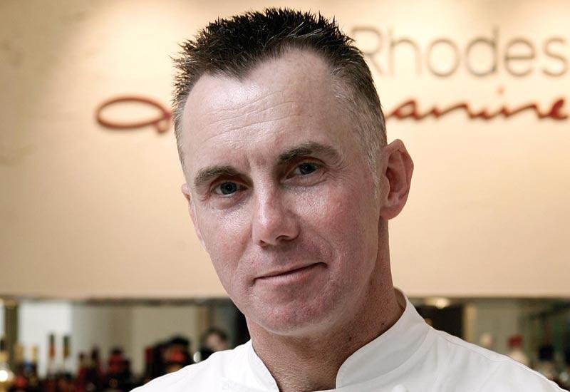 Gary Rhodes' restaurant Mezzanine will challenge Gordon Ramsey's outlet at Taste of Dubai.