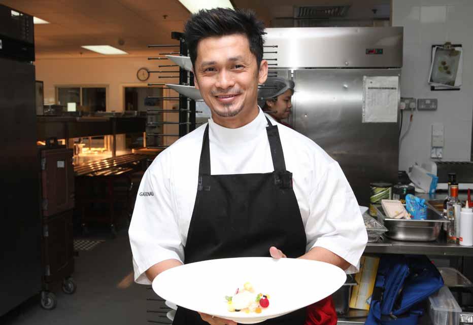 Singaporean chef Haikal Johari.
