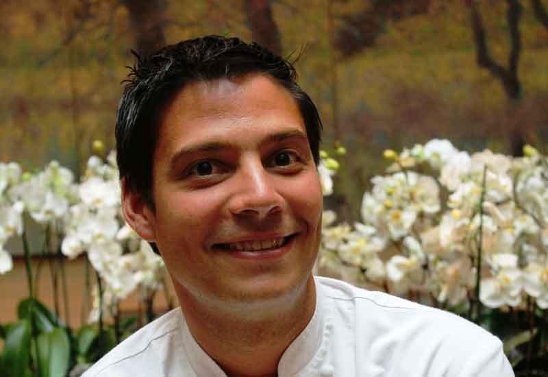 Traiteur's new chef, Franck Detrait.