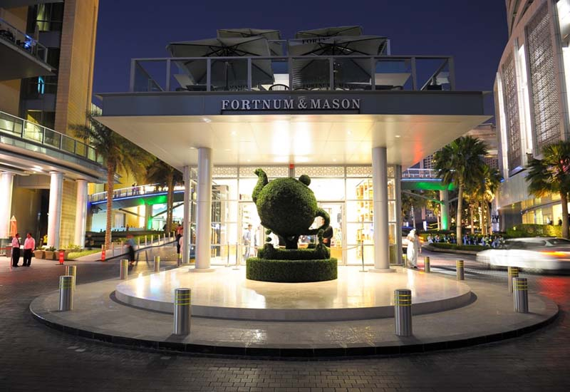 The new store is located in Downtown Dubai.