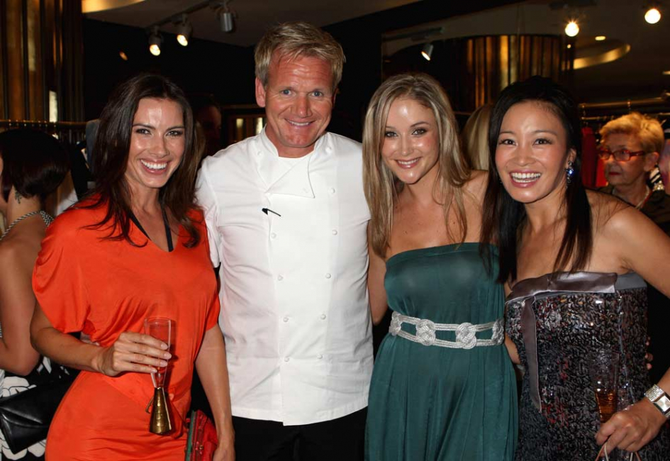 Gordon Ramsay at the opening of the One & Only in Cape Town (Getty Images).