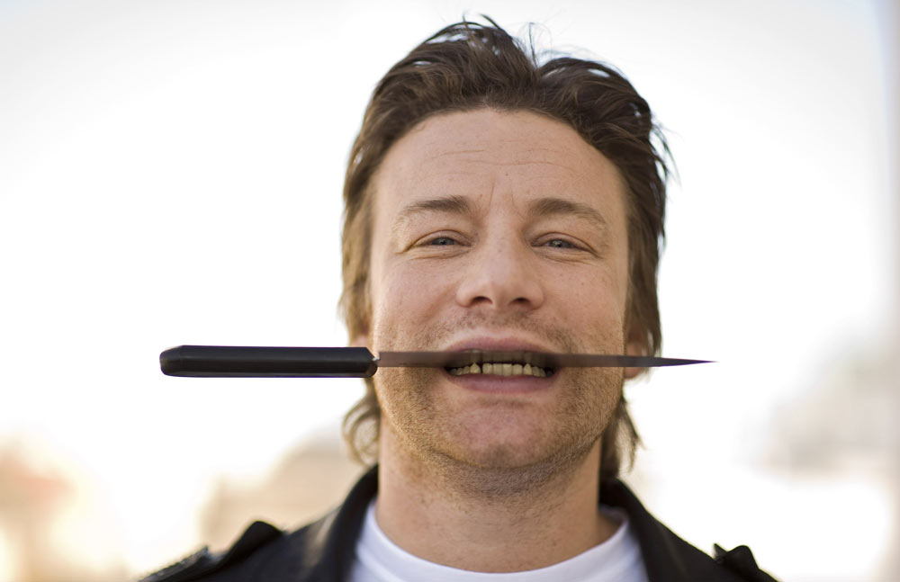 Jamie Oliver is getting upset in the US [Getty Images].