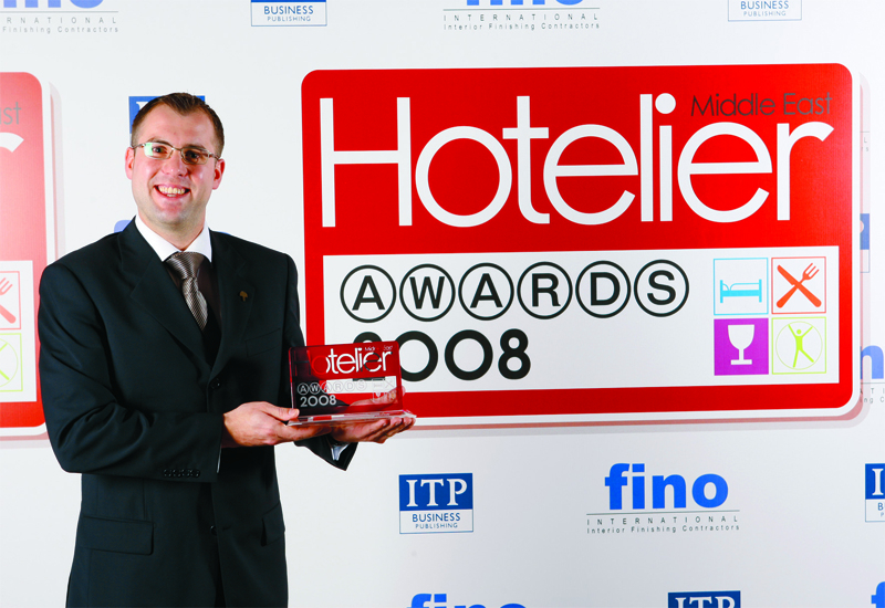 Nicholas Murcott, the head sommelier at Raffles Dubai, was named Sommelier of the Year at the Hotelier Middle East Awards 2008.