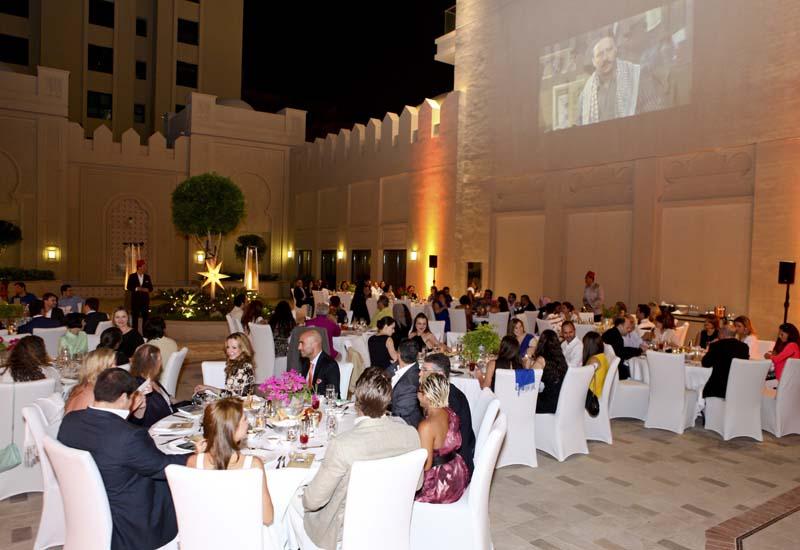 The pop-up event Makloubeh at Fairmont, The Palm, Dubai.