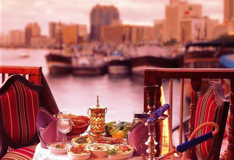 The Radisson Blu, Dubai Deira Creek's Al Mansour Dhow will be offering its traditional Valentine's dinner cruise.