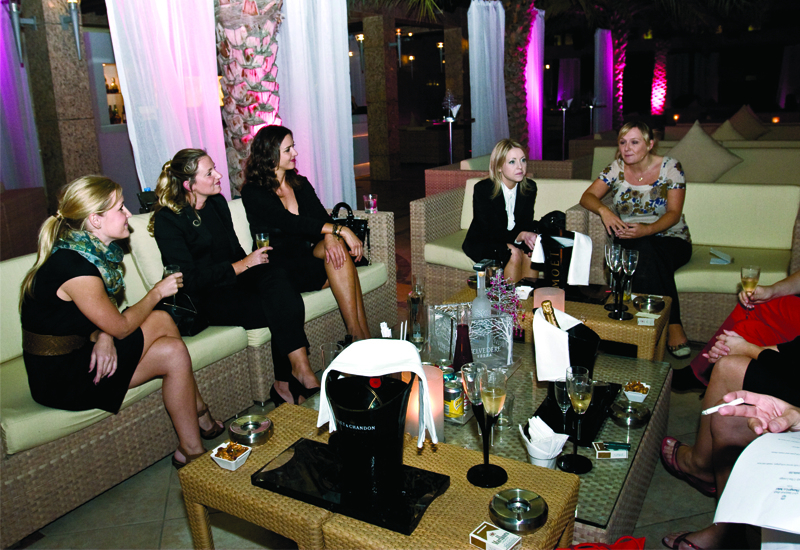 This month's beverage roundtable was a relaxed affair at the atmospheric iKandy bar.