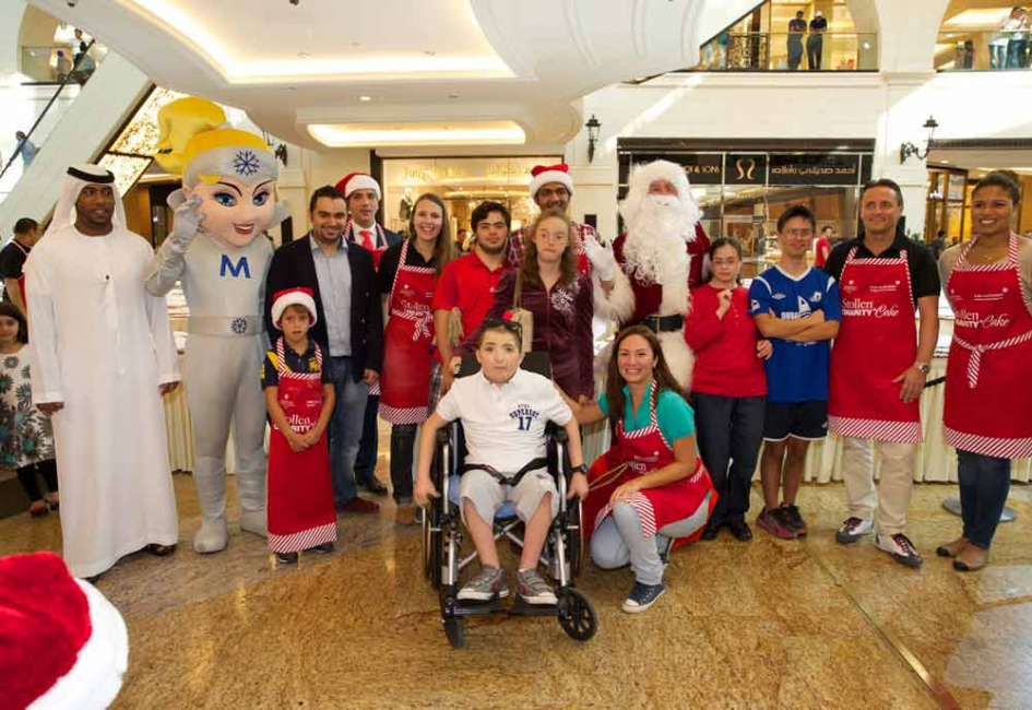 The 8th Annual Stollen Charity Cake Sale brought together more than 70 volunteers from Kempinski Hotel Mall of the Emirates and Mall of the Emirates.