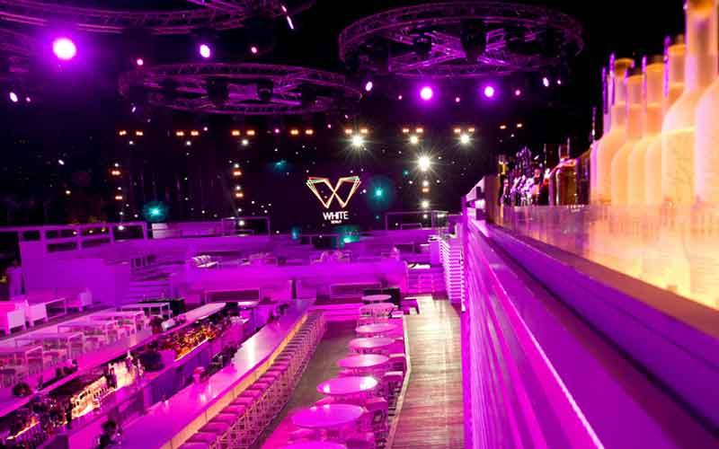 White Dubai will be located in Dubai's Meydan Hotel.