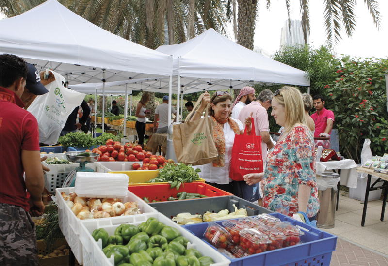 Locally grown produce will be on sale until May 2014 at this market.