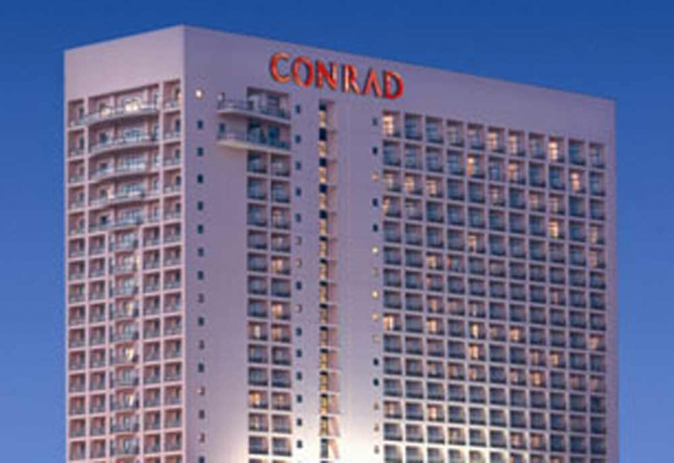The challenge will be held at the Conrad Cairo on October 11