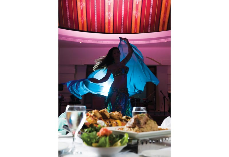 The Lebanese restaurants in the UAE often mix food with other MidEast traditions to create Arabic fusion concepts.