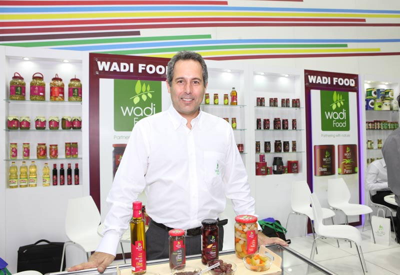 Khalil Nasrallah, executive manager of Wadi Food