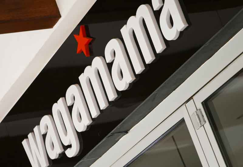 Wagamama: if you've got a few million knocking about, the brand could be yours.