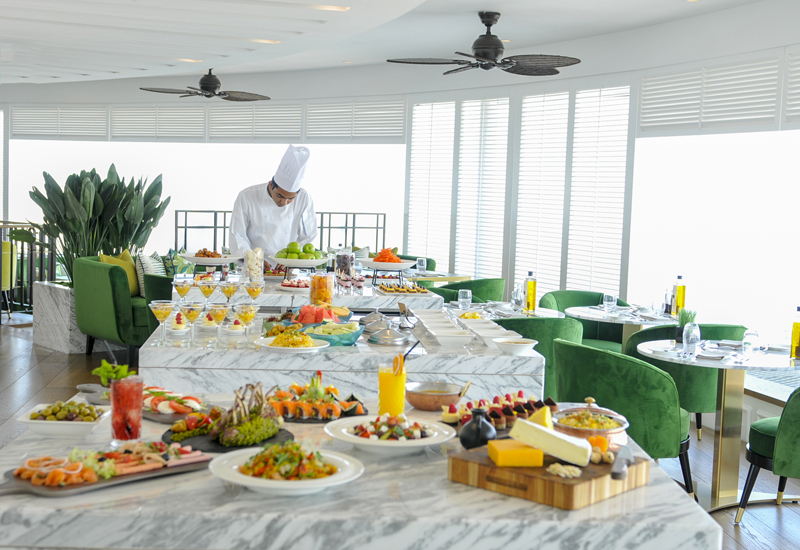 Hyatt Regency Dubai launches Sky Brunch.