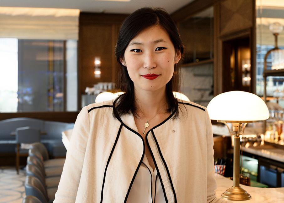 Angel X Shi, restaurant manager