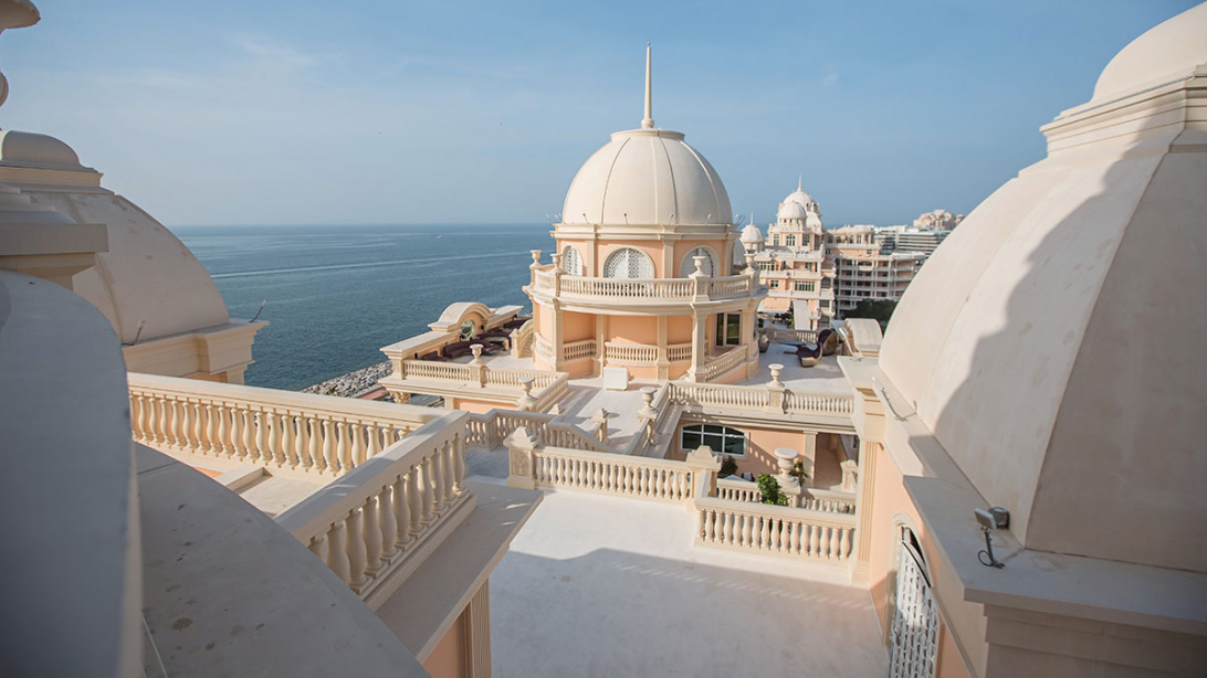 Majestic: The Emerald Palace Kempinski is the peak of luxury.