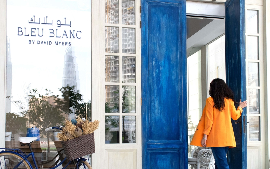 The hotel's fine dining French venue, 'Bleu Blanc' will also organise a menu for groups