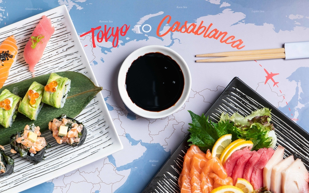 Tokyo to Casablanca Wednesdays features dishes from around the world.