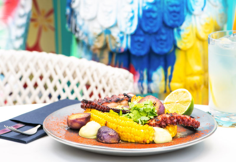 PHOTOS: Check out some of the dishes at the Malibu Deck pool bar