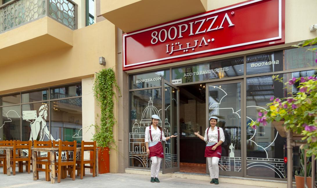 800pizza, Dubai pizza, Franchise