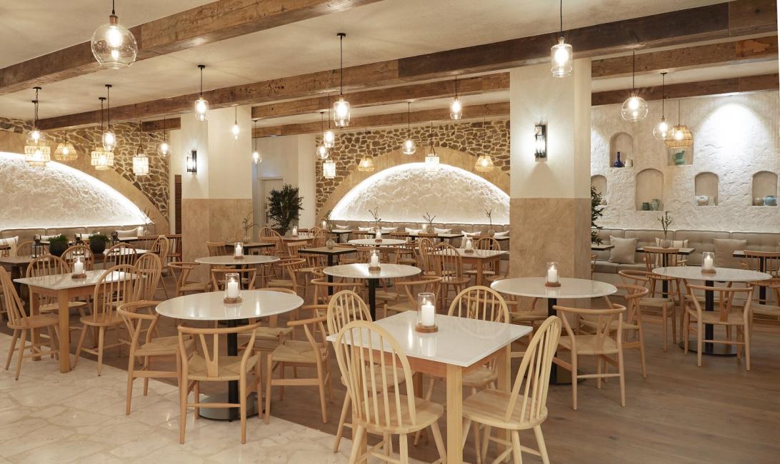Greek taverna kitchen, Souk Madinat, Dubai Souk Madinat Jumeirah