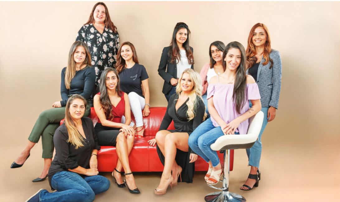 International women's month, Deliveroo