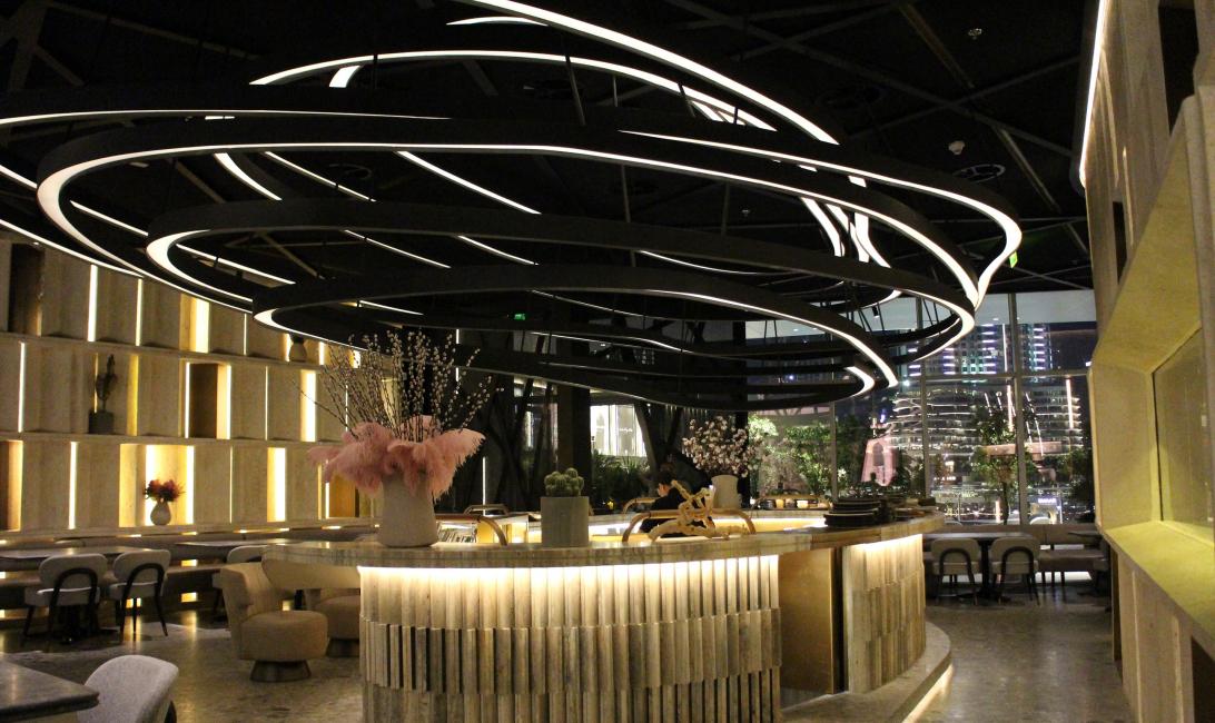 Dubai Mall, Fashion avenue restaurant, Dubai restaurant, Ofk
