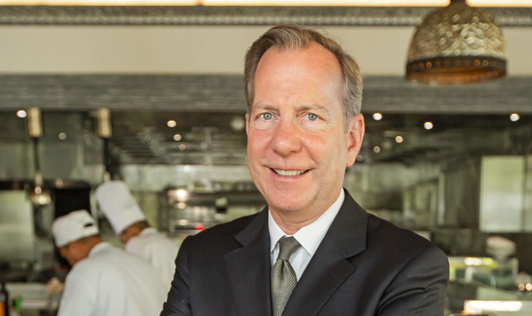 Michael Ellis, Jumeirah's chief culinary officer.