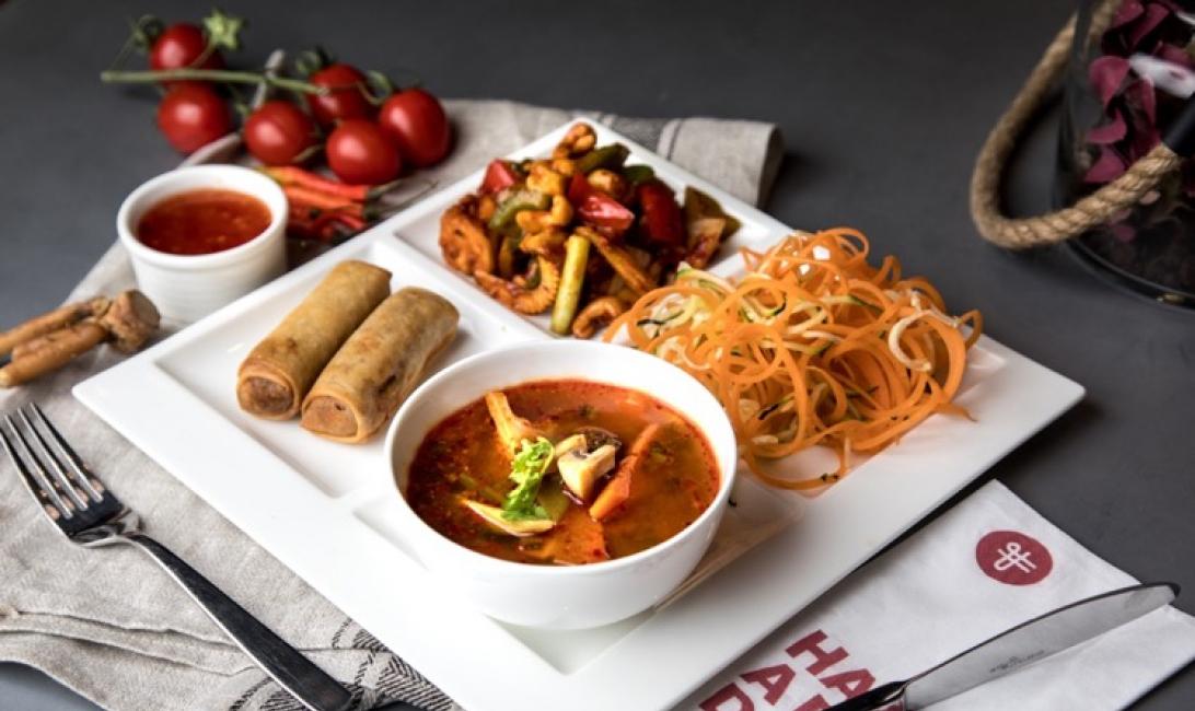 New menu, Thai cuisine, Thai food dubai, Fuchsia urban thai