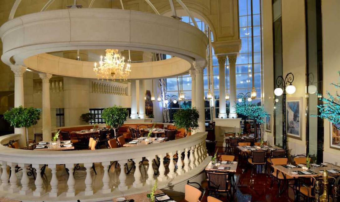 The atrium, Grand millenium dubai, Eid al fitr