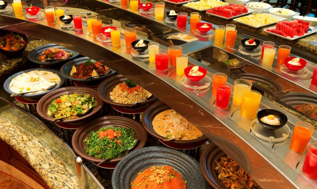 Eid al fitr, Atlantis The Palm, Dubai buffet