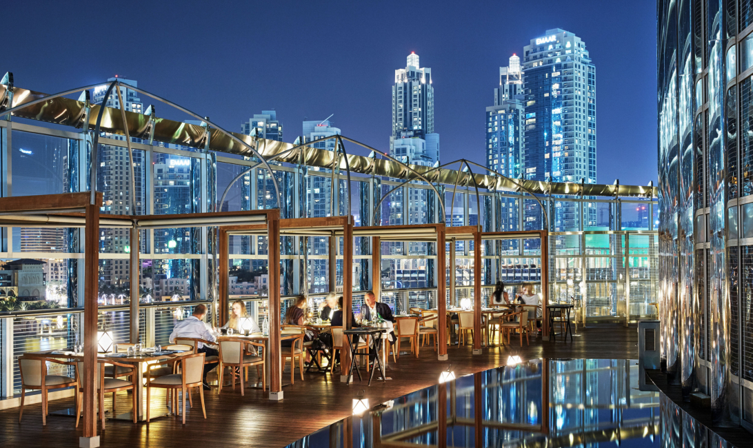 Armani, Summer deal, Dubai restaurant