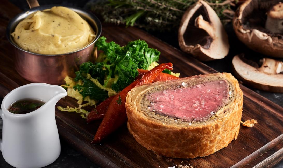 Bread Street Kitchen, Gordon Ramsay, Beef wellington