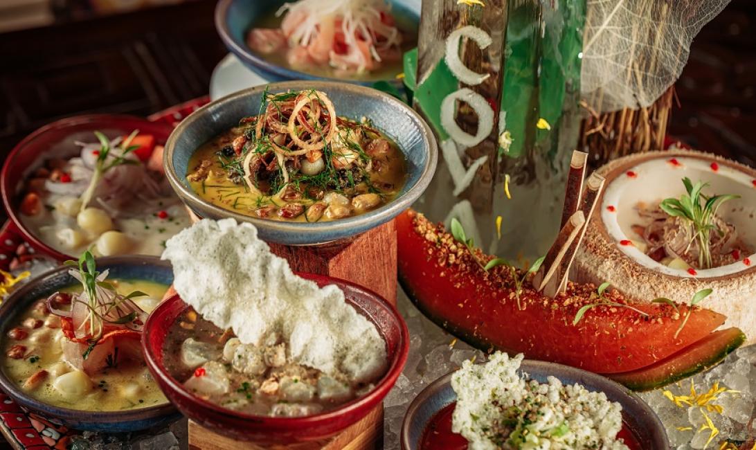 Coya Dubai, Peru, Peruvian cuisine, Ceviche