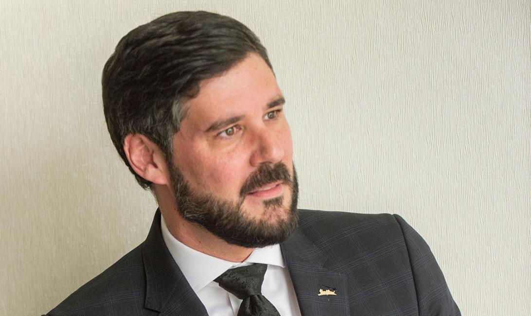 David Allan, hotel general manager