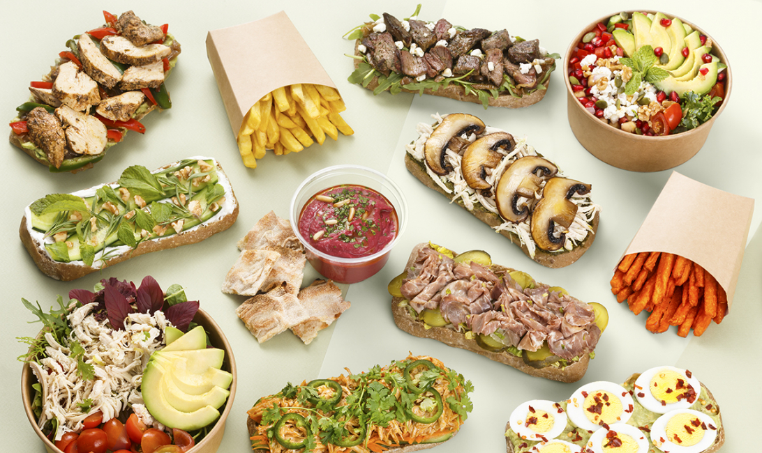 Puns, Pinza, Delivery, Deliveroo, Healthy eating