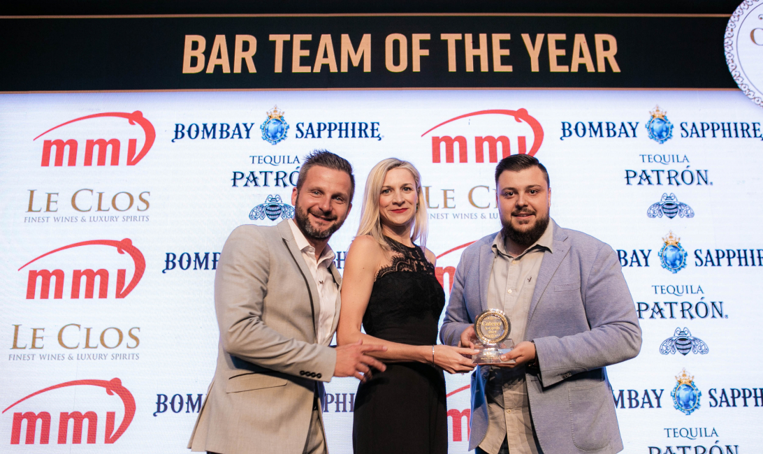 #CatererAwards, Bar Team of the Year, Garden on 8, Media one