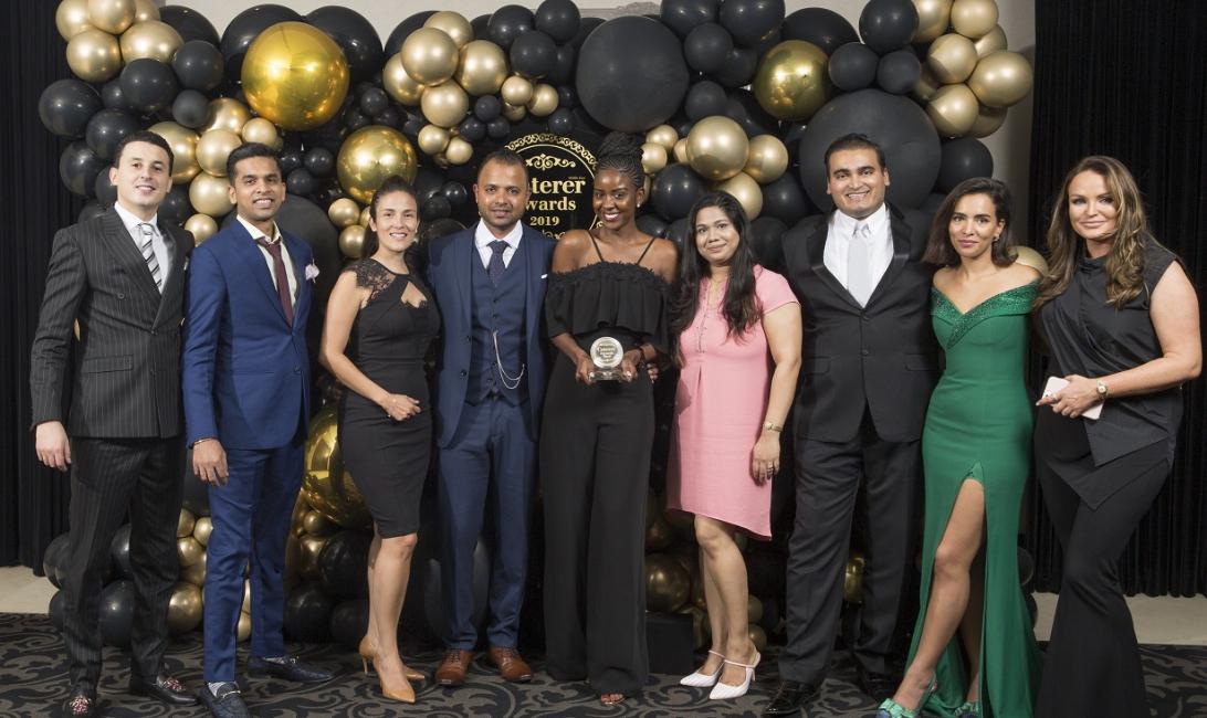 Caterer ME awards 2019  held at The Dubai ballroom JW Marriott Marquis  180619  Caterer awards 2019