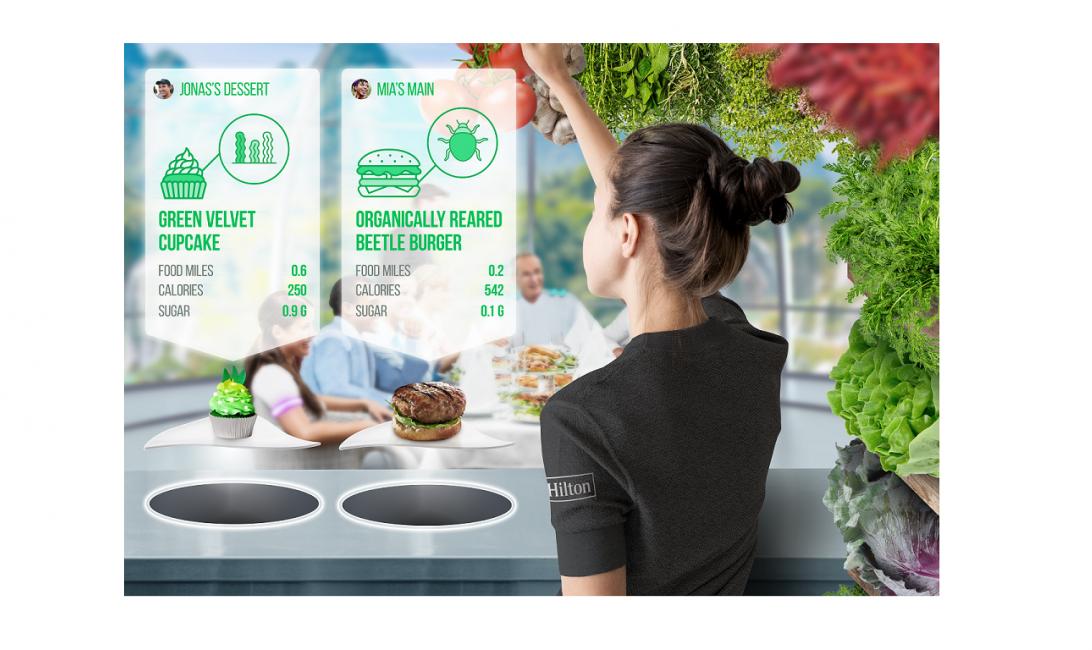 Hilton, Plant-based, Vegan