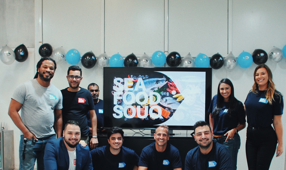 The team at Seafood Souq