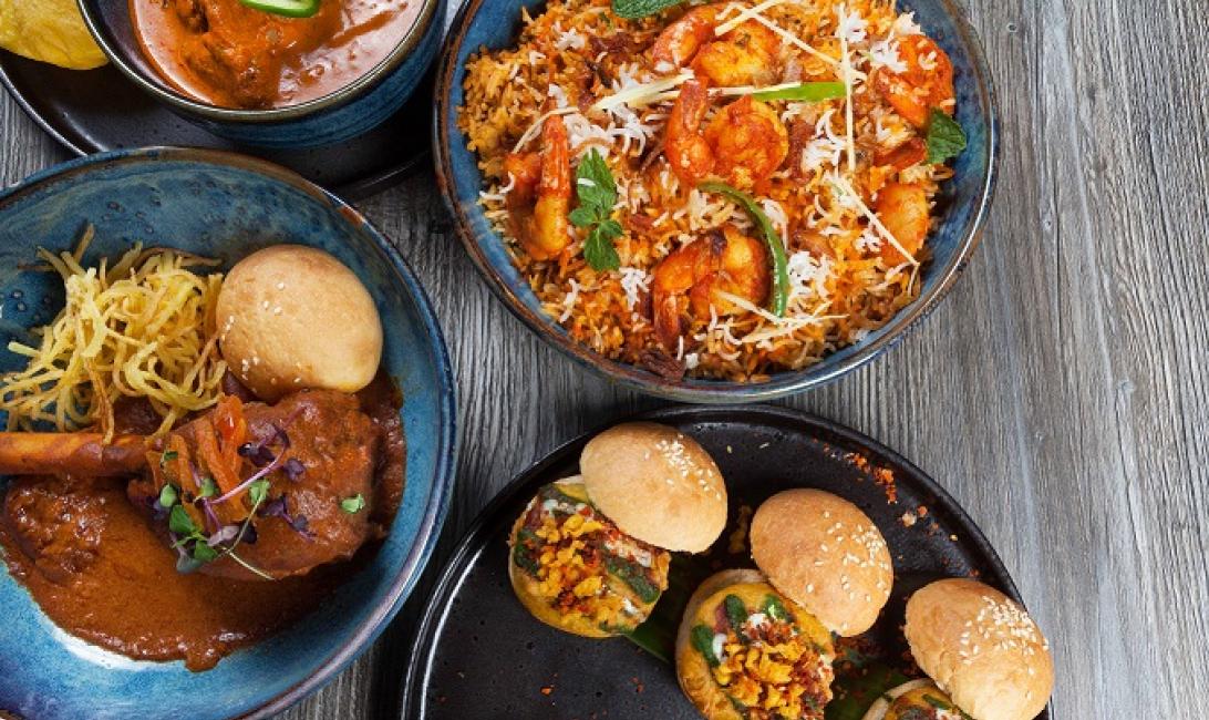 Asha's, New menu