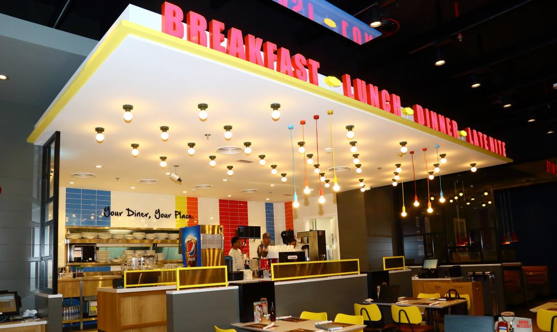 Denny's, Fujairah, Fcc, American cuisine