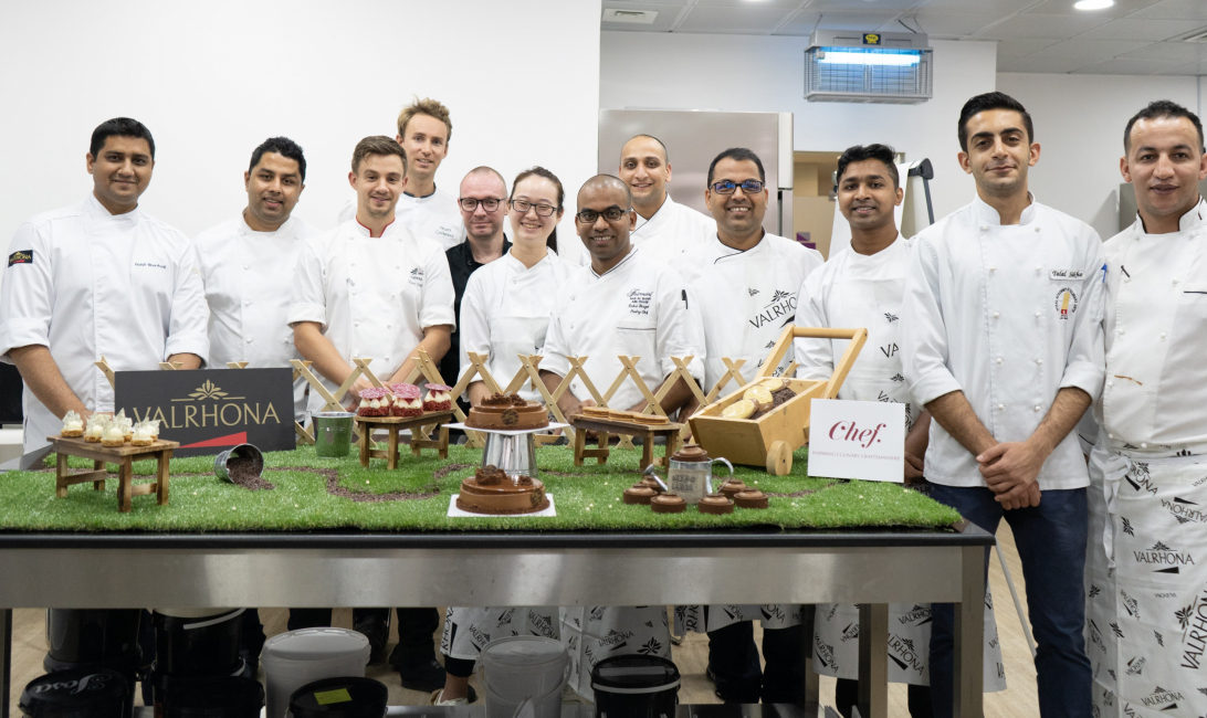Valrhona, Chocolate, Workshop, Chef Middle East