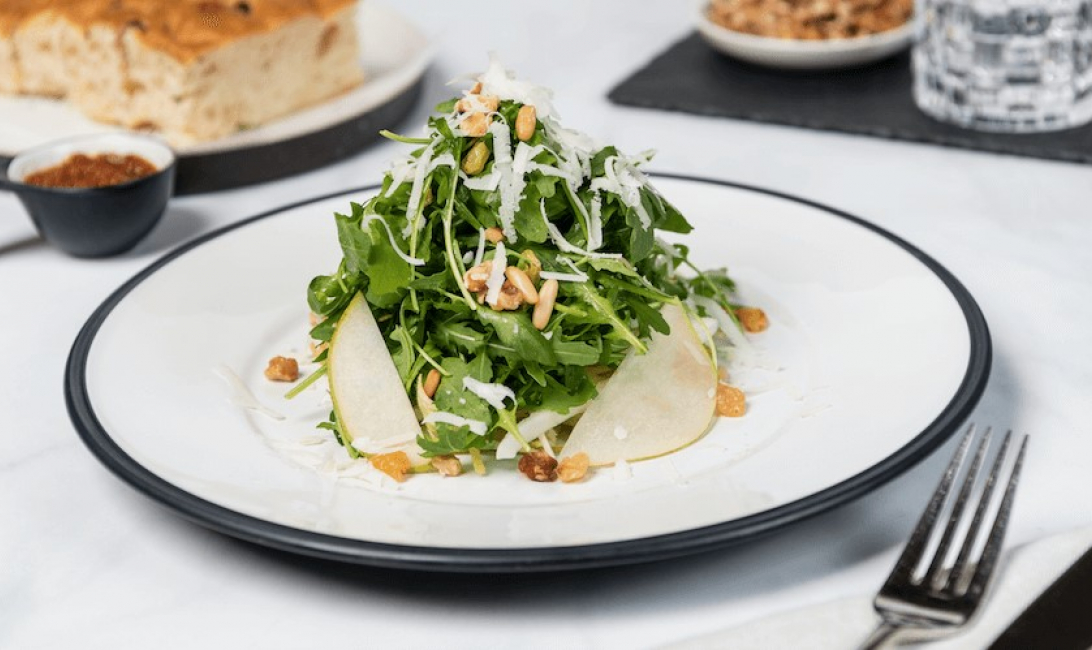 Gia, Gia ristorante, Italian cuisine, Business lunch