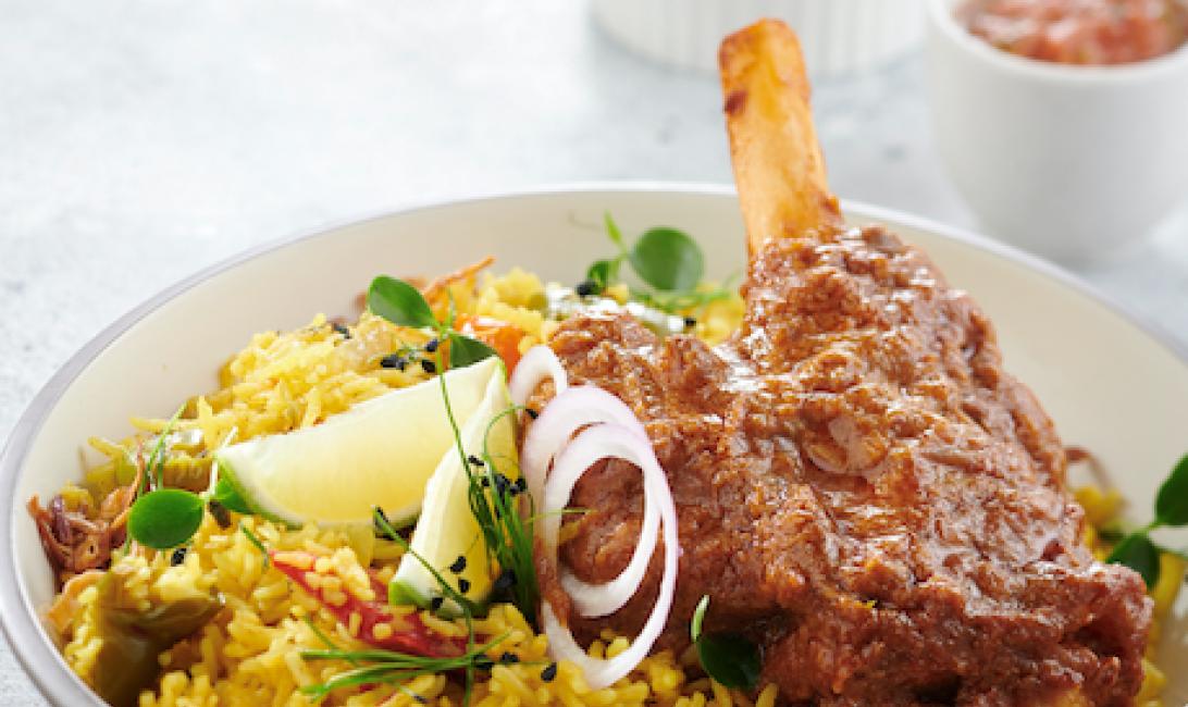 Karak house, New menu, Emirati cuisine