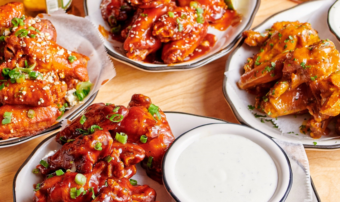Wings madness at Black Tap