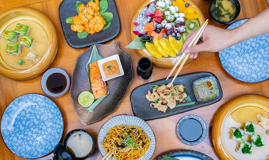 Taikun, Toko, Asian cuisine, Party brunch