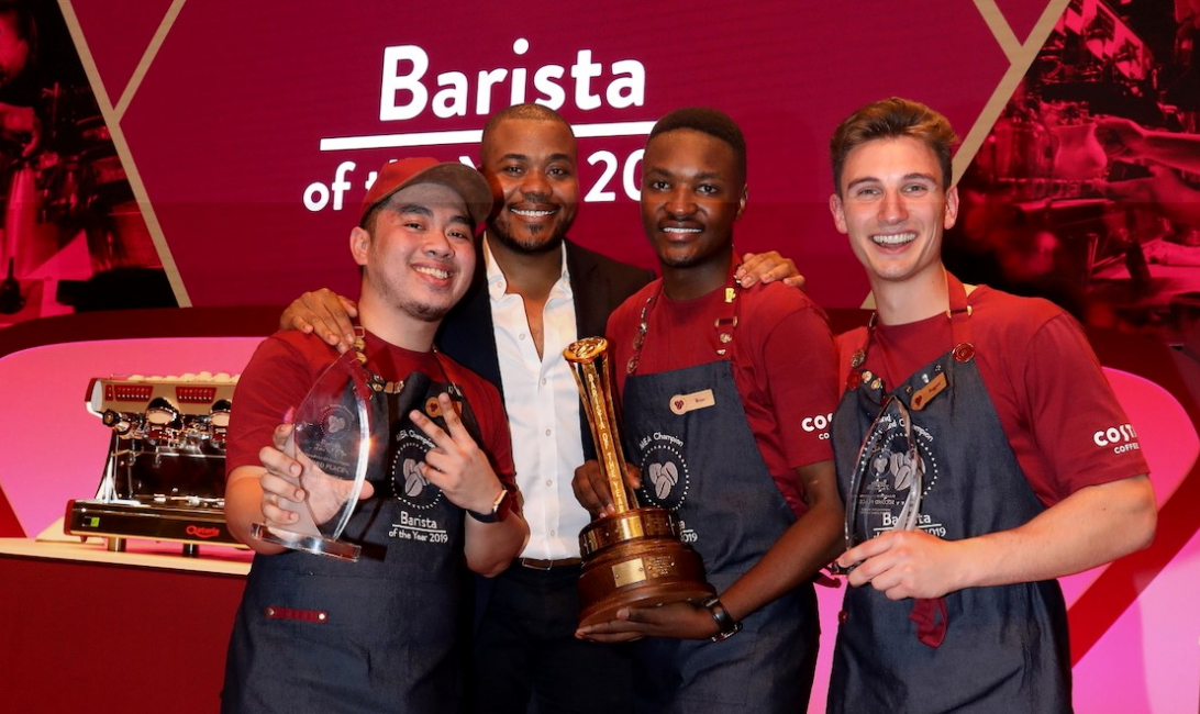Nestor L Allado Jr., Selasi Gbormittah, Brian Chibwe, and Ruggero Barlaba.